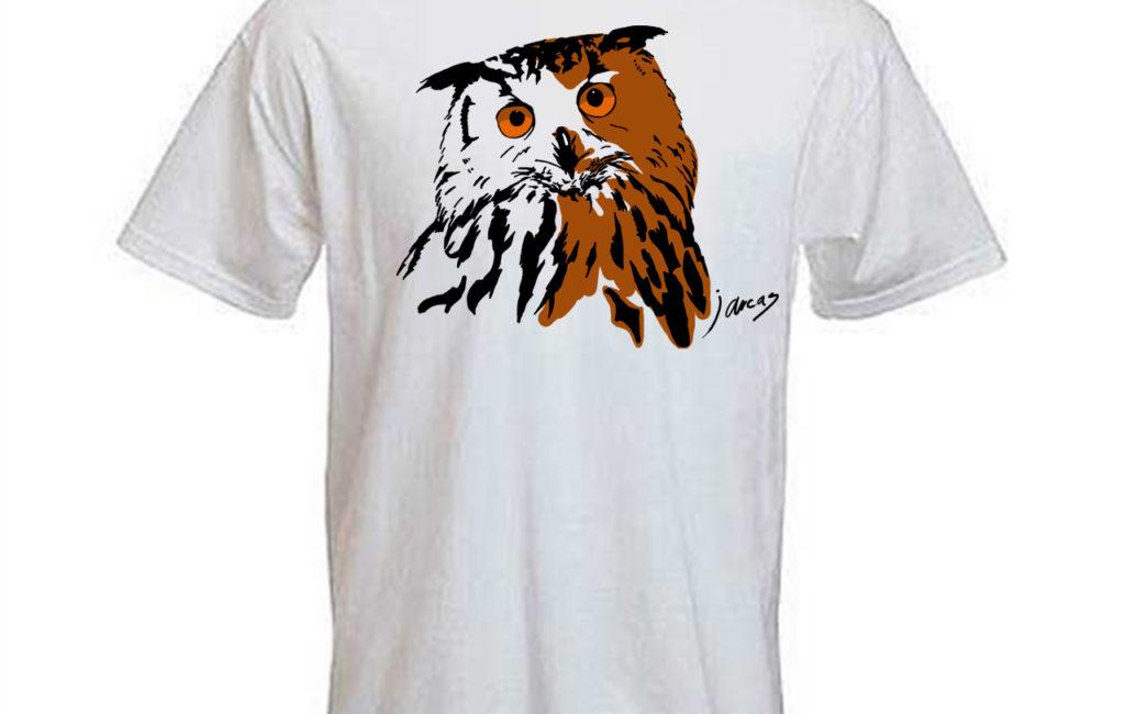 Camiseta Búho Real