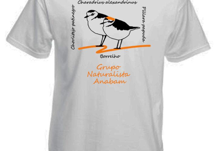 Camiseta Píllara das dunas