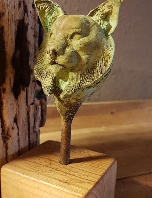 Busto de Lince ibérico, Lynx pardinus